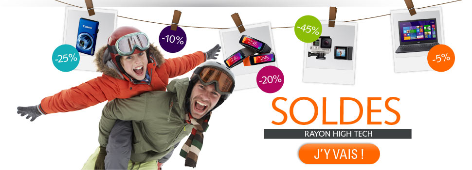 Soldes rayon hightech